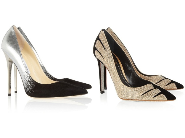 L: Jimmy Choo R:
