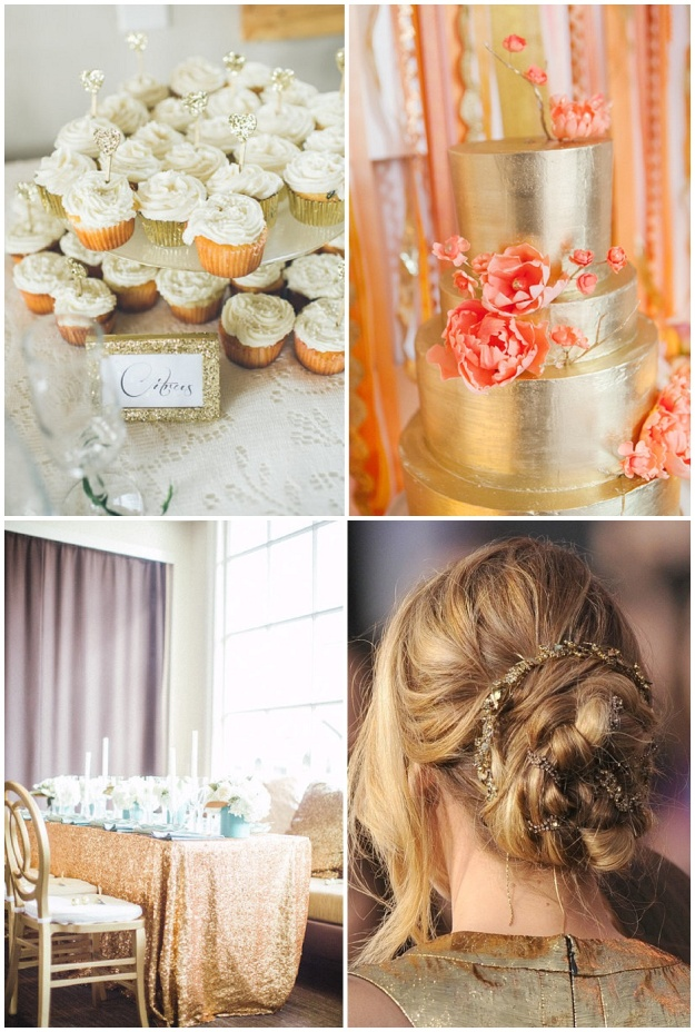 Clockwise from top L: Pure gold photography; Heather Waraksa; Pinterest; Scott Andrews