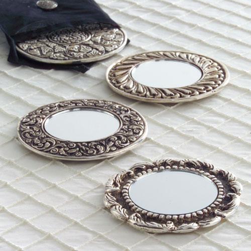 Silver Make Up Mirror