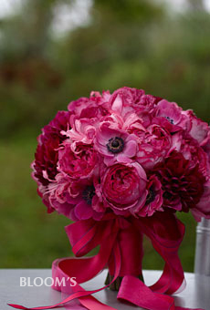 absolutely gorgeous hot pink bouquet