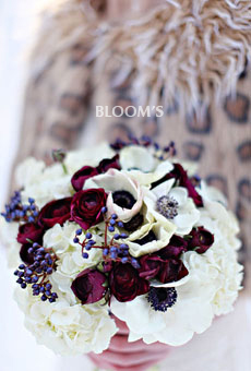 classic full & luxurious mix of extreme white & red favorites hand-tied bouquet