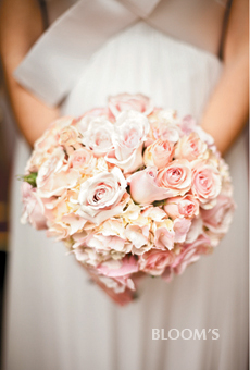 perfectly pastel peach bouquet