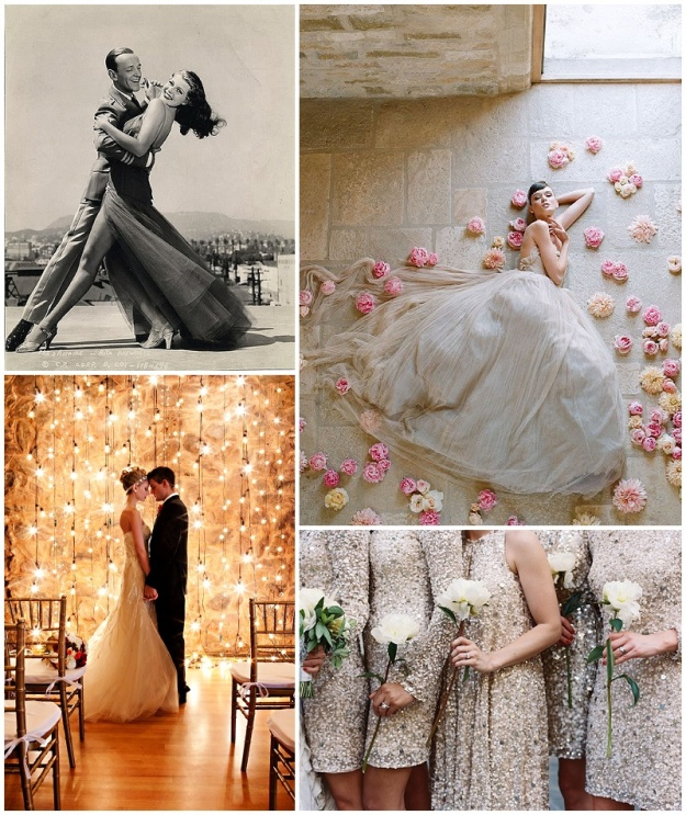 Clockwise from top L: Pinterest; Elizabeth Messina; Tec Pataja; Pinterest