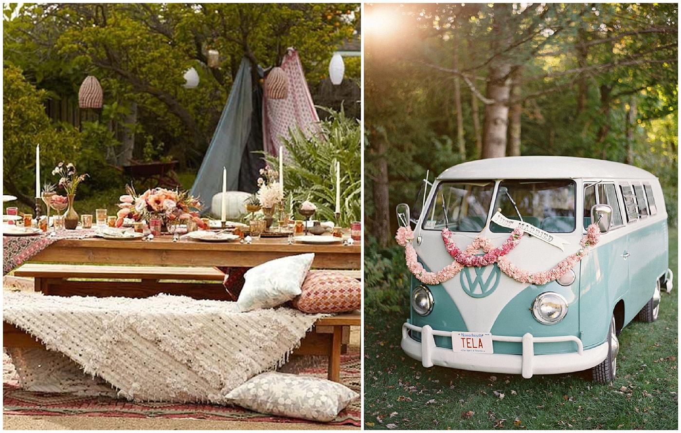 Hippie Wedding Lace In The Desert